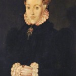 'Portrait of a Lady, Called Anne Ayscough or Askew (1521–1546), Mrs Thomas Kyme' by Hans Eworth, 1560. Wikimedia Commons URL: http://commons.wikimedia.org/wiki/File%3AHans_Eworth_Portrait_of_a_Lady_call_Anne_Ayscough.jpg